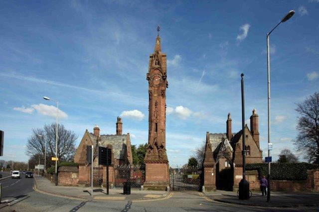 Anfield Cemetery 1863 (lost)